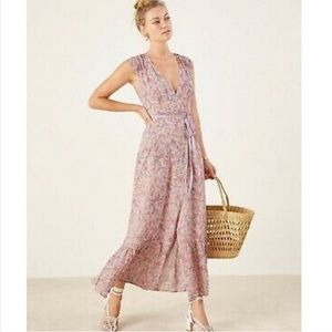 Reformation Haven Maxi Wrap Dress